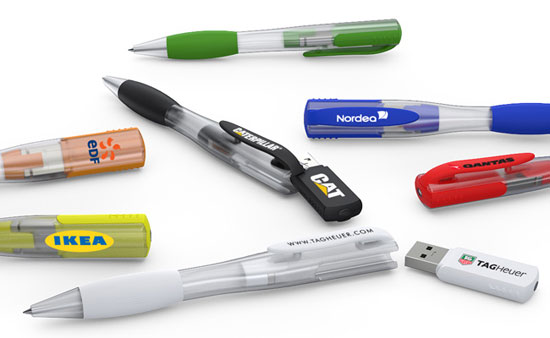 Ink Series USB Flash Pens with innovative magnetic mechanicsm